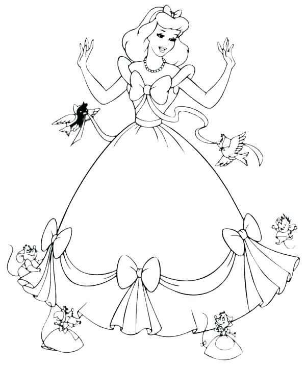 600x715 Cinderella Coloring Pages Disney Coloring Pages Games Book