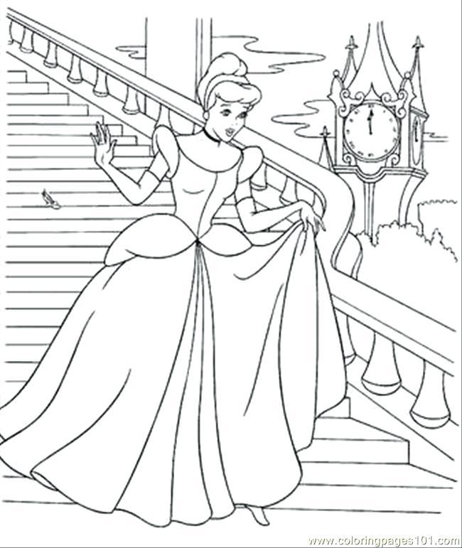 650x771 Cinderella Coloring Pages Disney Printable Coloring Pages Coloring