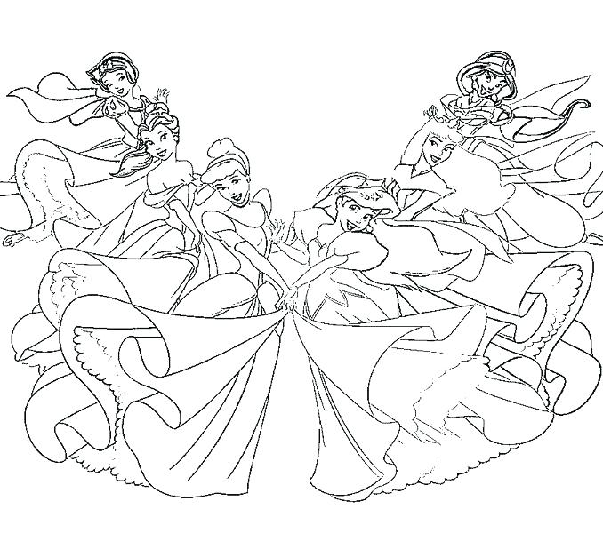 678x600 Get This Princess Coloring Pages Girls Coloring Pages