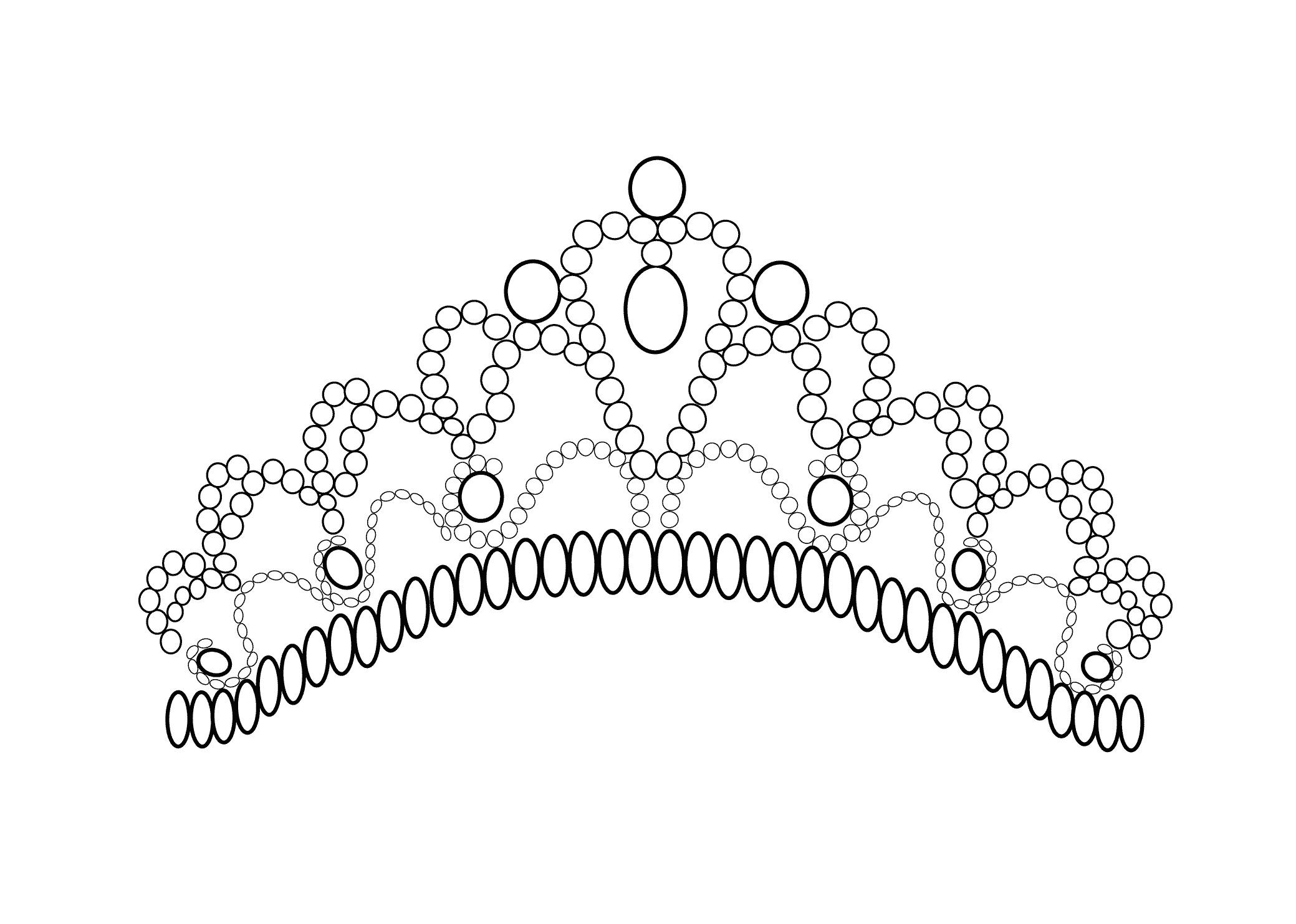 2079x1483 New Coloring Pages Princess Crown