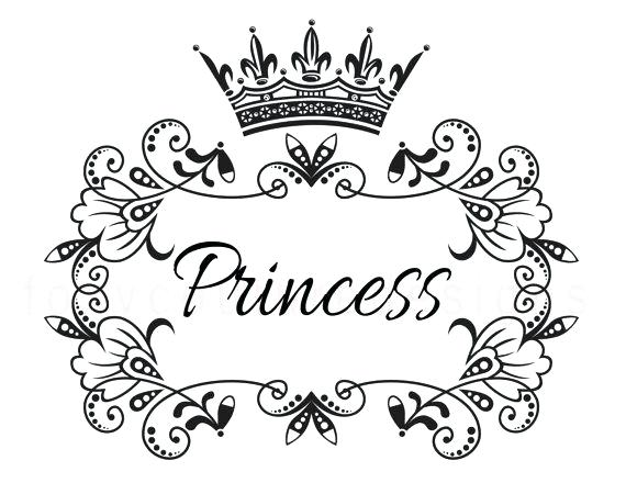 570x440 Princess Crown Coloring Pages Diamond On Princess Crown Coloring