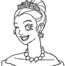 220x220 Princess Tiara Coloring Pages