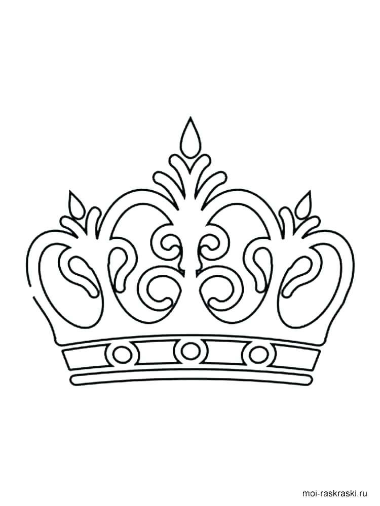 750x1000 Princess Crown Coloring Pages