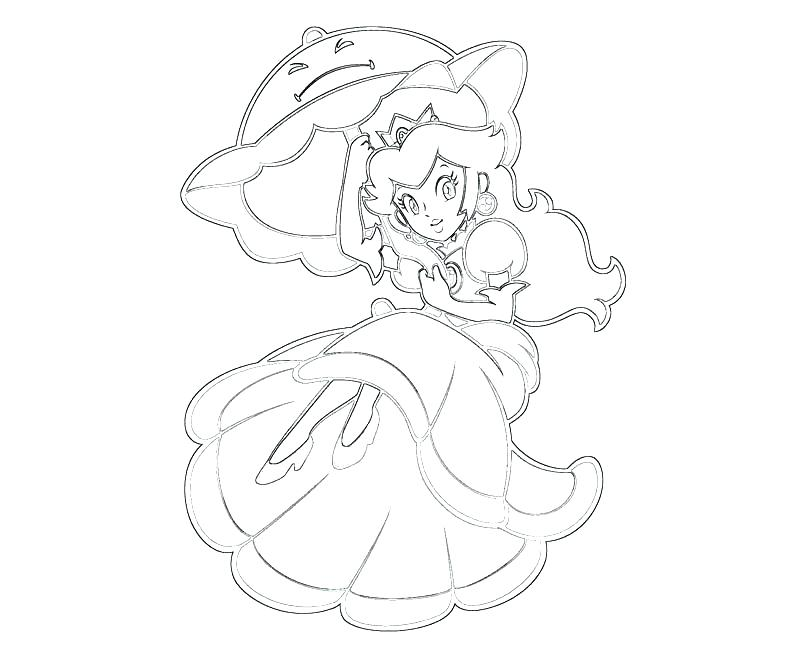 800x667 Peach Coloring Page Princess Daisy Coloring Pages Princess Peach