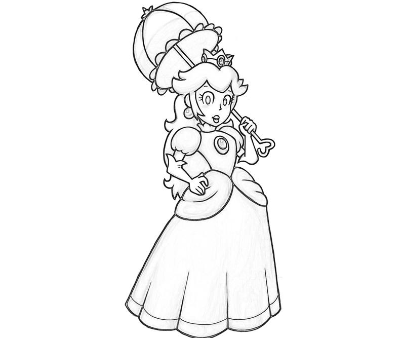 800x667 Princess Daisy Coloring Pages Many Interesting Cliparts