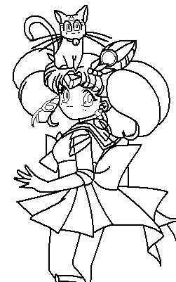 251x401 Rini And Diana Coloring Page