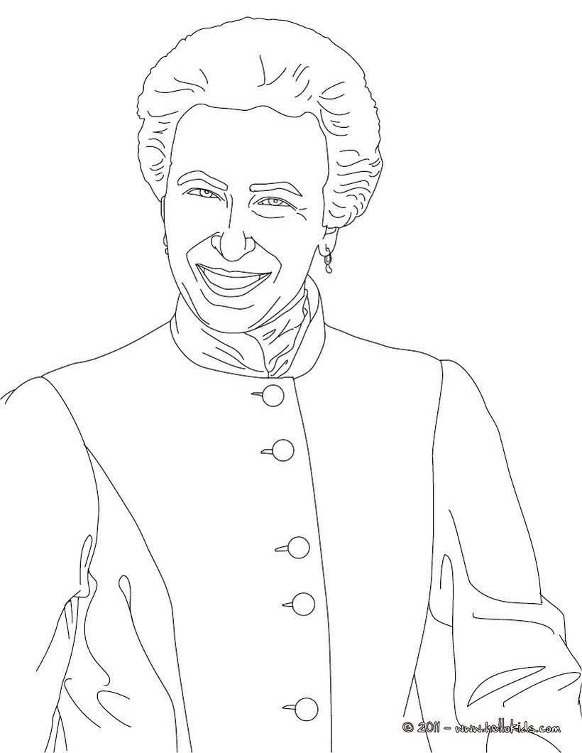 820x1060 British Kings And Princes Colouring Pages