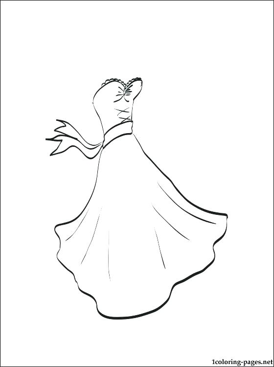 560x750 Dress Coloring Page Gets Dressed Coloring Pages Coloring Page