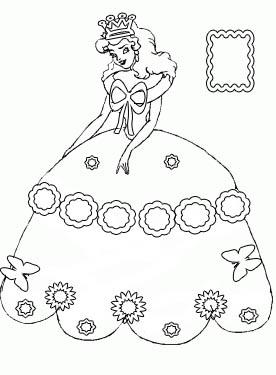 276x375 Princess Dress Coloring Pages Elena Reviews