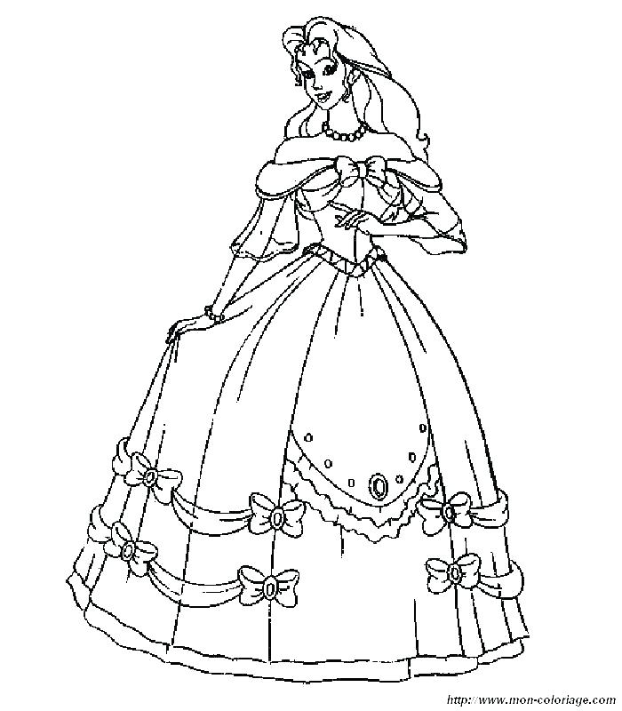 700x800 Dress Coloring Pages Coloring Ideas Pro