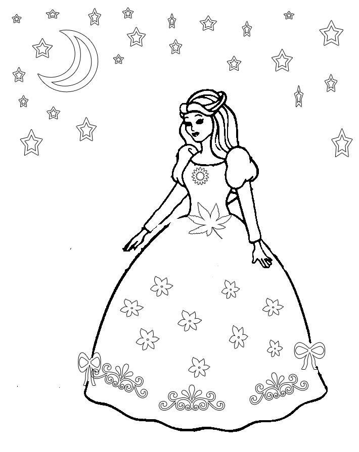 710x895 Design A Dress Coloring Pages Princess Dress Coloring Pages