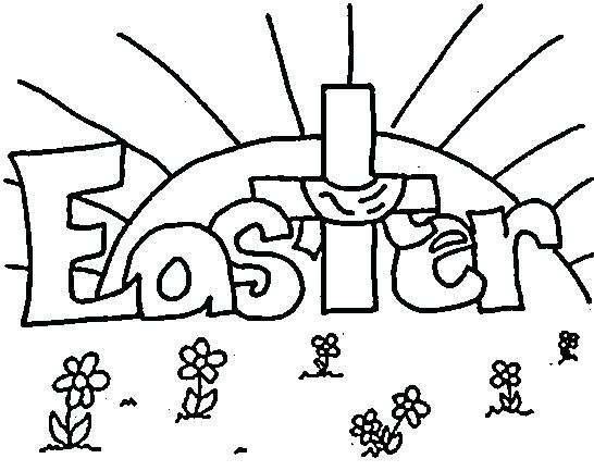 Princess Easter Coloring Pages