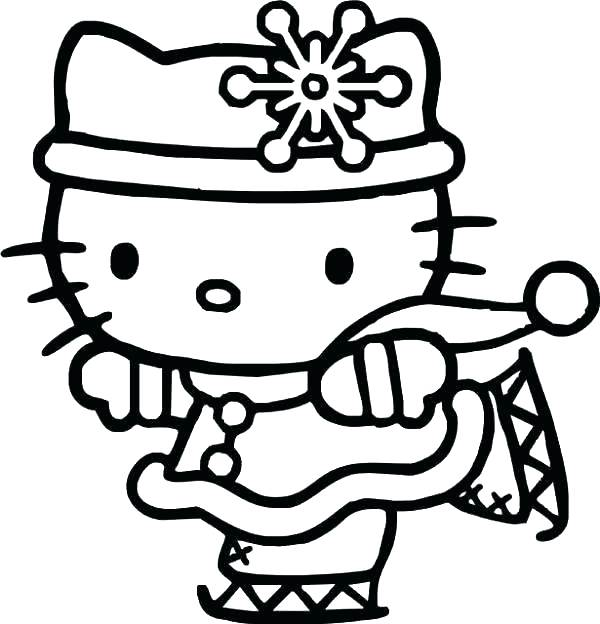600x624 Hello Kitty Coloring Pages That You Can Print Hello Kitty Princess