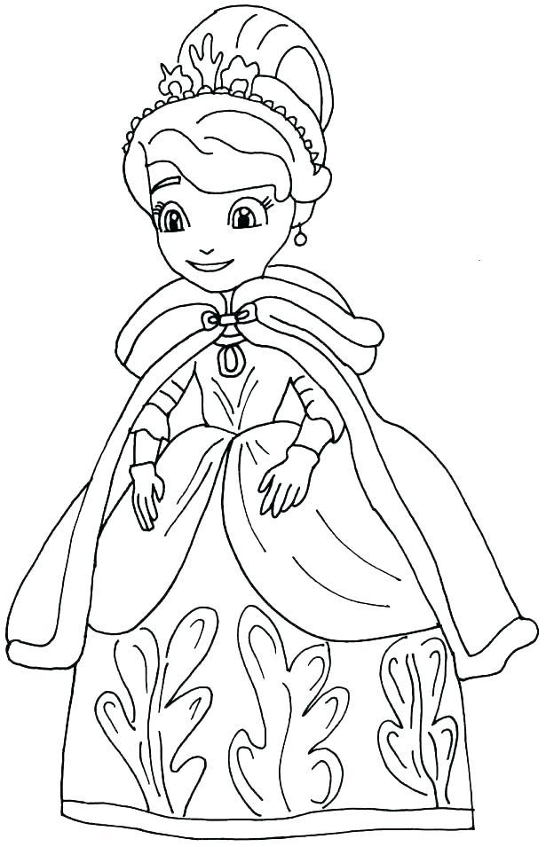 615x955 All Princess Coloring Pages Free Princess Coloring Pages Princess