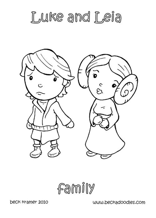 Princess Leia Coloring Pages At Getdrawings Com Free For Personal
