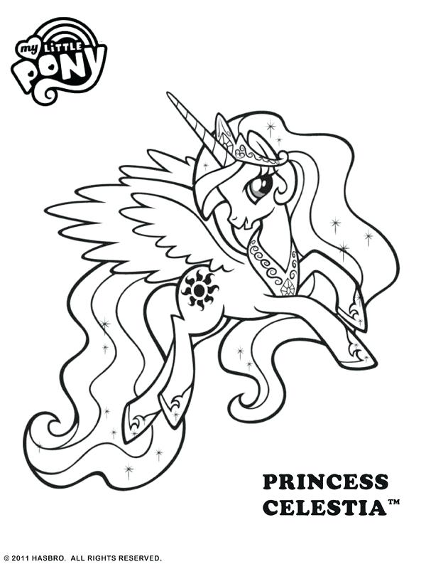 600x800 My Little Pony Princess Luna Colouring Pages And Coloring