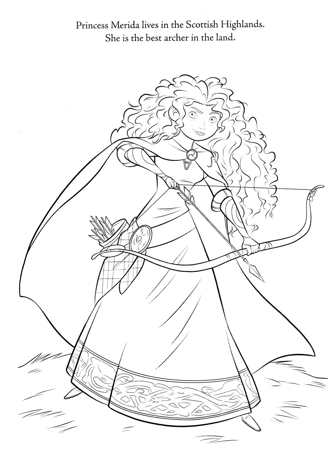 1077x1497 New Disney Princess Coloring Pages Brave Gallery Printable