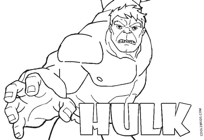 670x460 Hulk Coloring Pages To Print Free Printable Hulk Coloring Pages