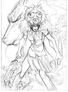 236x318 Princess Mononoke Coloring Pages Best Of Best Coloring Pages