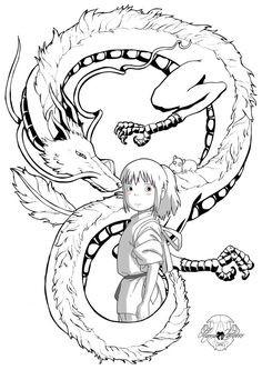 Coloriage Princesse Mononoke.The Best Free Mononoke Coloring Page Images Download From