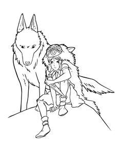 236x305 Hayao Miyazaki Coloring Pages