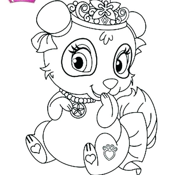 594x600 Palace Pets Coloring Pages Also Good Palace Pets Coloring Pages