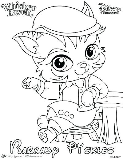 400x517 Palace Pets Coloring Pages Muffin Princess