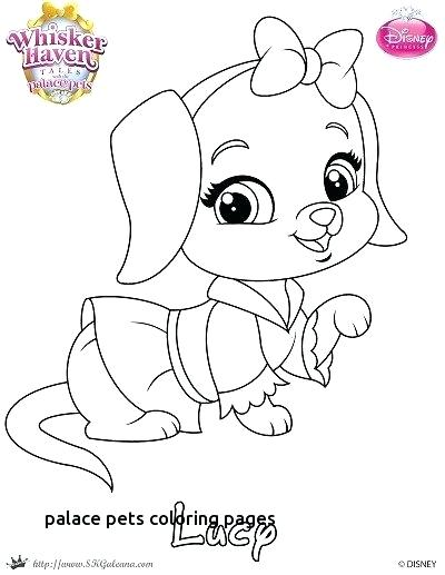 Princess Palace Pets Coloring Pages At Getdrawings Com Free For