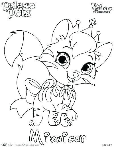 400x517 Pet Coloring Pages Princess Palace Pets Coloring Pages Free