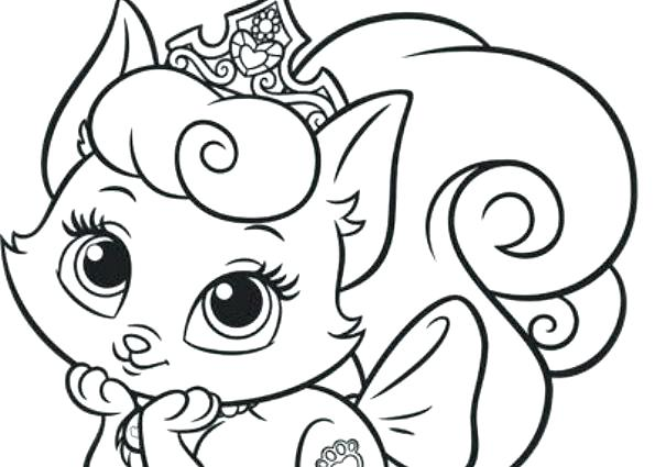 595x425 Princess Palace Pets Coloring Pages Princess Palace Pets Coloring