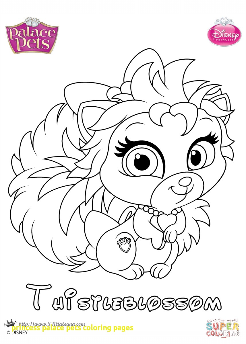 857x1200 Princess Palace Pets Coloring Pages With Thistleblossom Princess