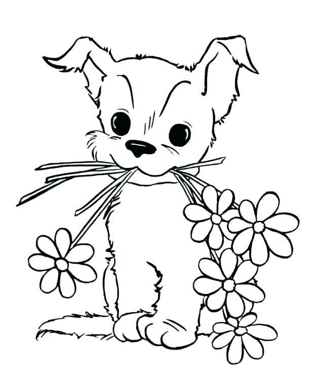 618x757 Princess Puppy Coloring Pages