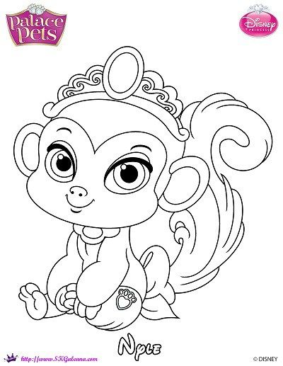 400x517 Free Princess Palace Pets Coloring Page Of Nyle Skgaleana