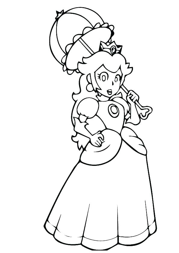 The Best Free Rosalina Coloring Page Images Download From 162