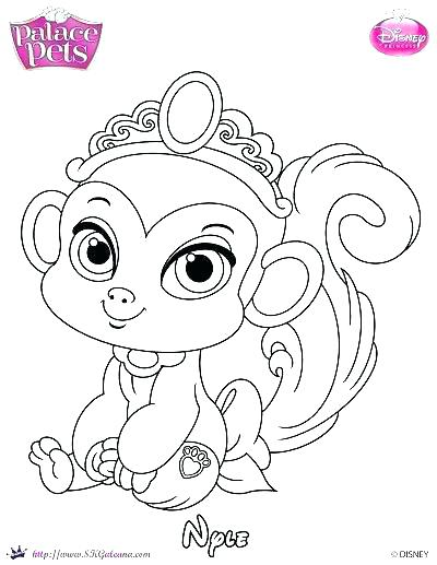 Princess Pets Coloring Pages At Getdrawings Com Free For Personal