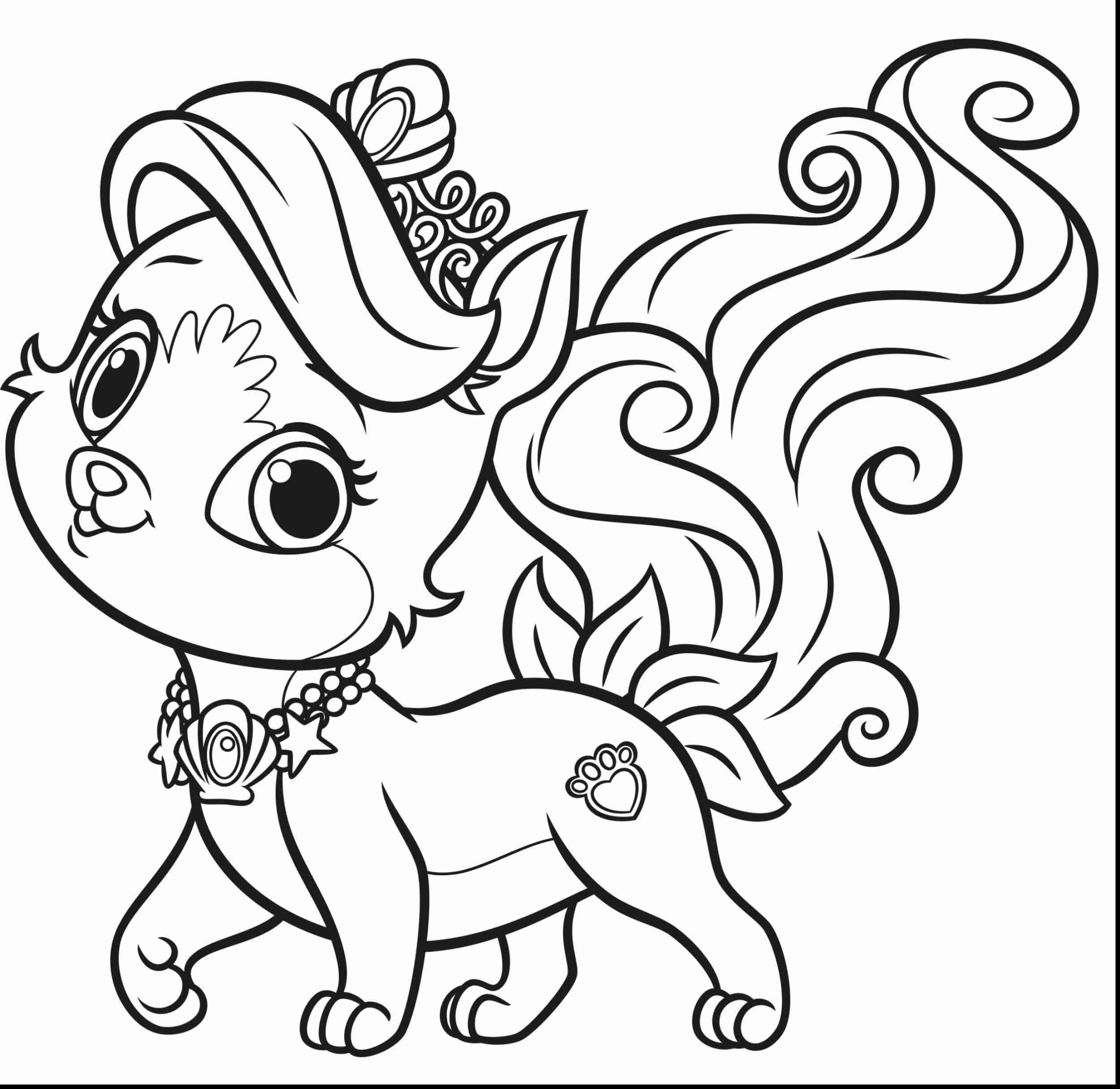 2501x2433 Good Palace Pets Coloring Pages With Pet New Princess On Free Also