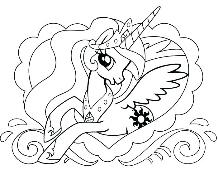 700x561 My Little Pony Princess Coloring Pages Princess Coloring Pages
