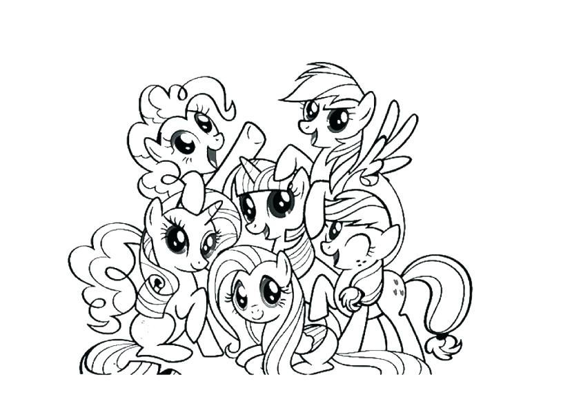 842x595 Mlp Fim Coloring Pages Coloring Pages Pony Cartoon My Little Pony