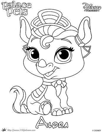 350x452 Princess Palace Pet Coloring Page Of Alora Palace Pets, Palace