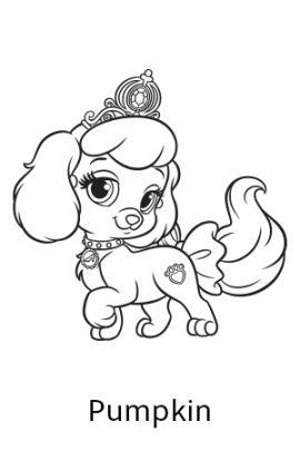270x405 Palace Pet Printables Princess Palace Pets Free Coloring