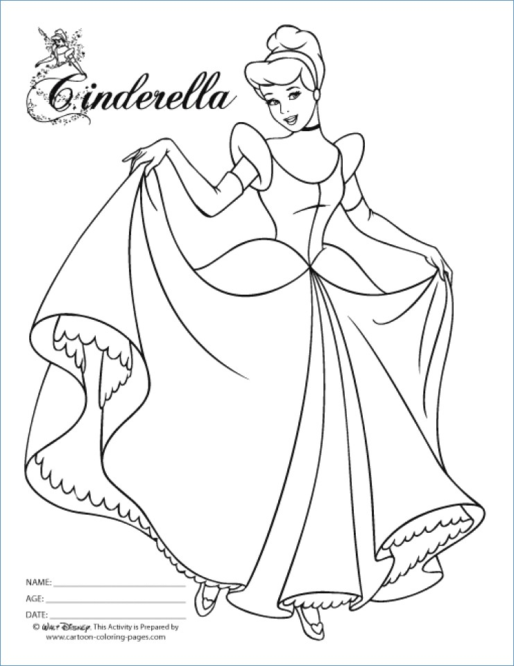 741x960 Princess Snow White And Bird Disney Coloring Page