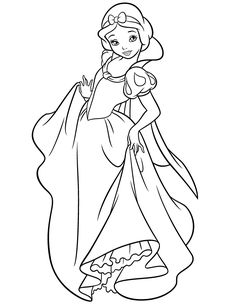 236x305 Princess Snow White Was Given A New Dress Christmas Day Disney