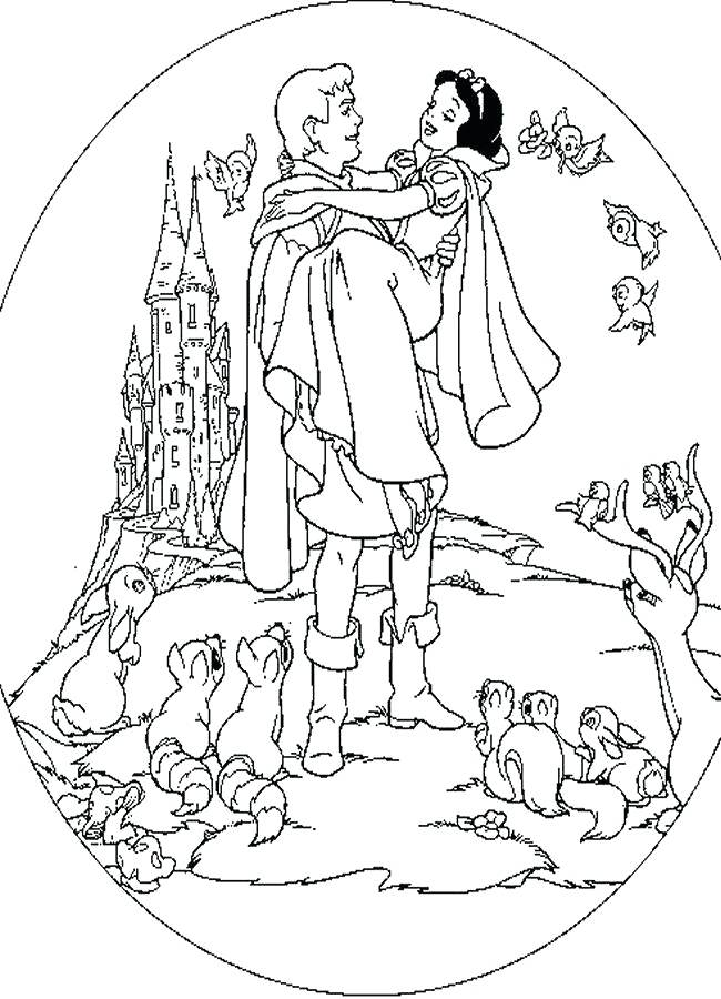 650x900 Snow White Coloring Pages Snow White Coloring Book Plus Drawn