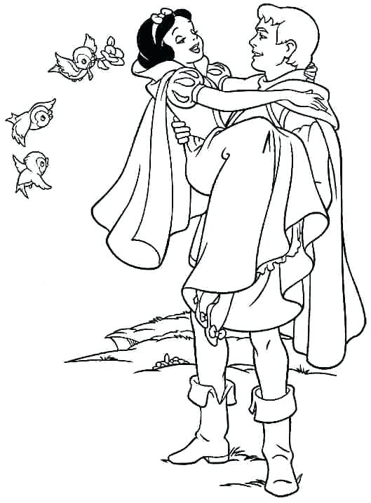529x718 Disney Snow White Coloring Pages Printable Princess Snow White