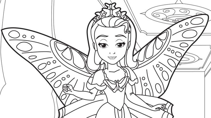 Princess Sofia Printable Coloring Pages At Getdrawings Free Download
