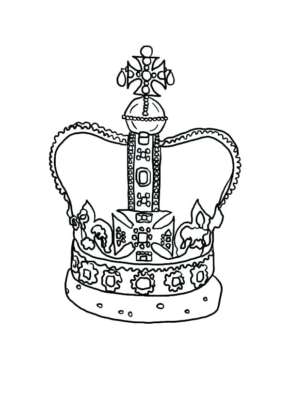 600x844 Princess Crown Coloring Page Princess Crown Coloring Page Crown