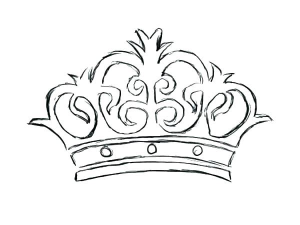 600x450 Princess Tiara Coloring Pages Crown Coloring Sheet Princess Crown