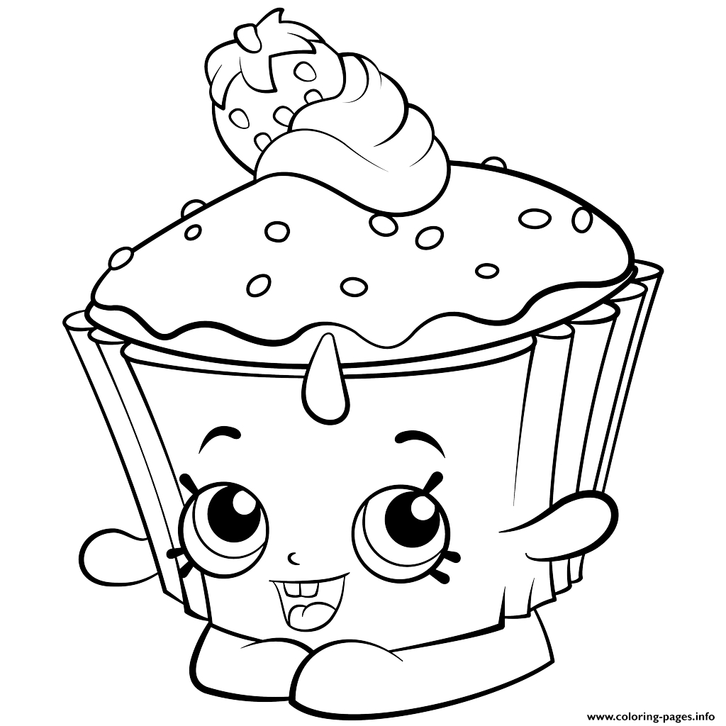 1024x1024 Kawaii Cupcake Coloring Pages Collection Coloring For Kids