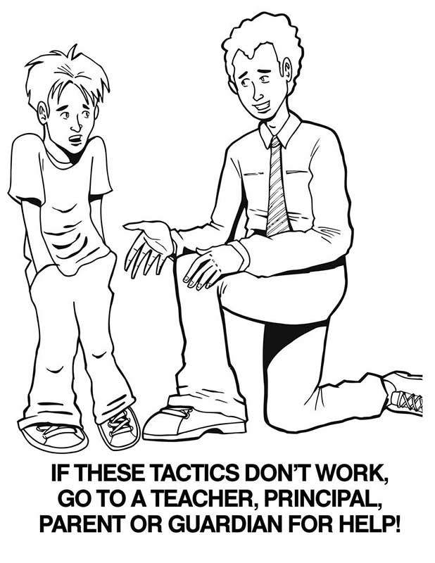 618x800 Bullying Coloring Pages Free Printable Coloring Worksheets