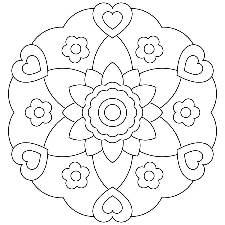 736x736 Printable Mandalas Coloring Pages Printable Mandalas Coloring
